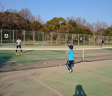和泉市光明池緑地運動場テニス教室